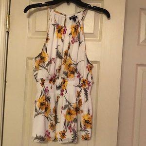 Express floral cami top
